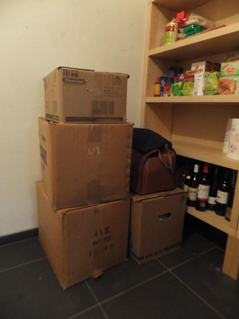 berging storage room