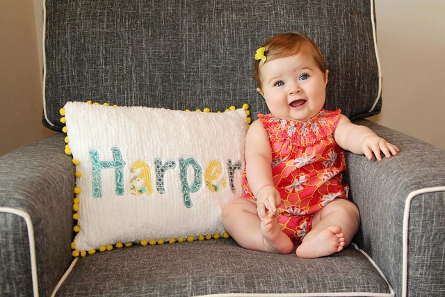 Harper at 8 months