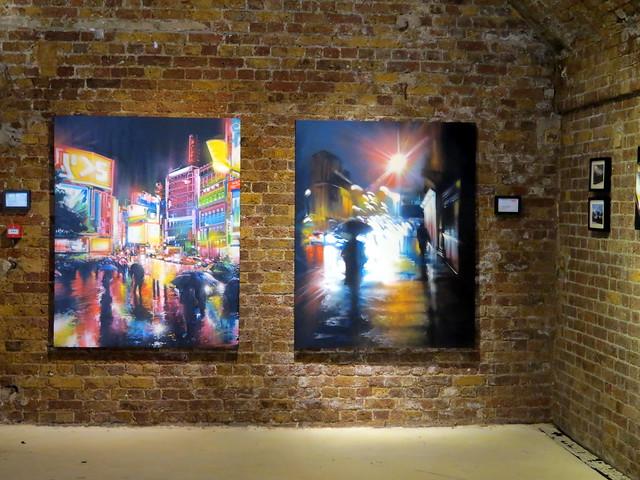 Dan Kitchener (DANK) - Tokyo Neon @ Hoxton Gallery