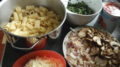 Spinach & Mushroom Rigatoni 8