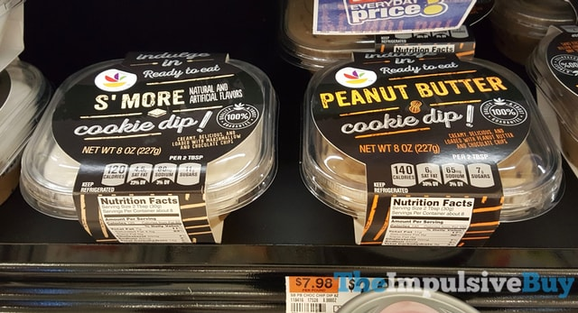 Giant-Stop & Shop S'mores Cookie Dip and Peanut Butter Cookie Dip