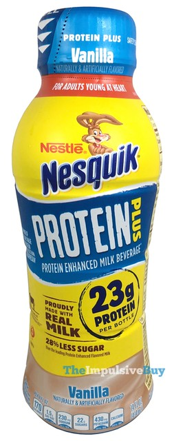 Nestle Nesquik Protein Plus Vanilla Milk