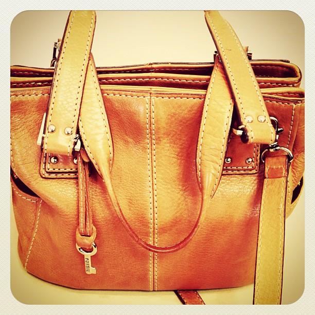 Apr 5 - bag {my fav bag} #photoaday #fossil