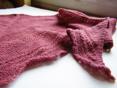 sampler shawl