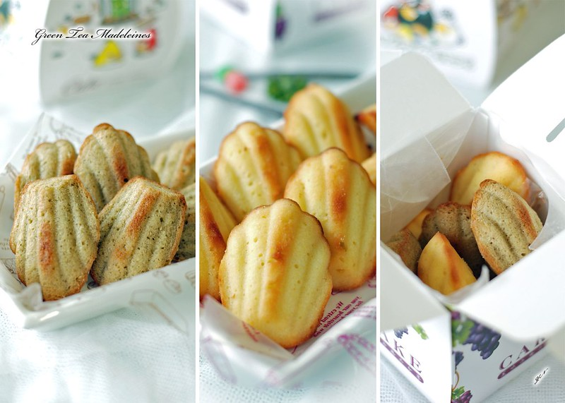Green Tea Madeleines1