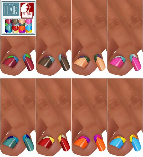 Flair - Nails Set 34