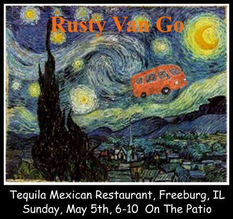 Rusty Van Go 5-5-13