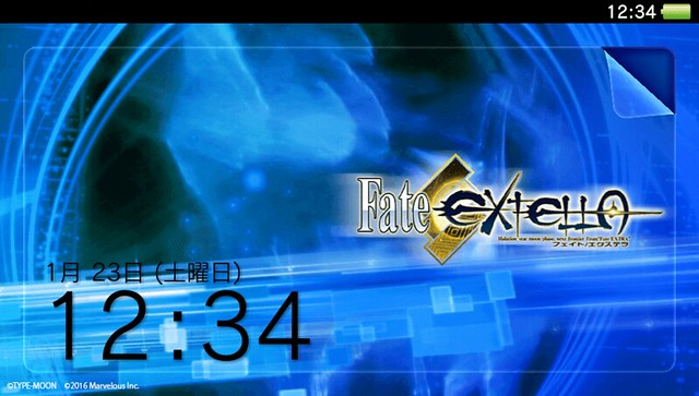 Fate/EXTELLA Vitaテーマ