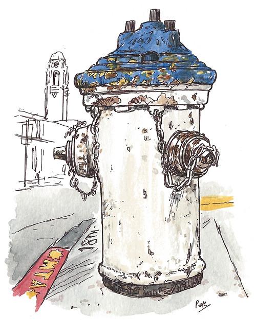 hydrant on 18th & church, SF