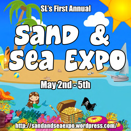 Official Logo--SL's Sand & Sea Expo - May 2nd - 5th, 2013
