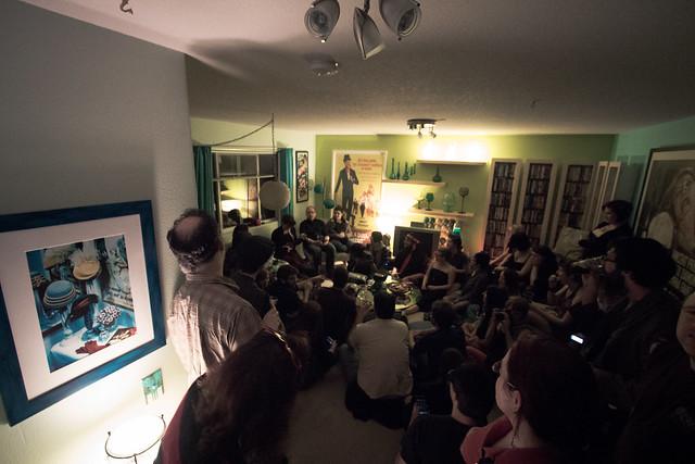 Amanda Palmer Kickstarter Party in PDX