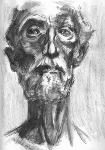 study of a Rodin by husdant