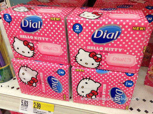 Dial Hello Kitty Bar Soap