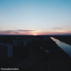 #sunset 13/9 #gent #ghent #visitgent #ghentcity #colours #visitflanders #vsco #vscocam #wanderlust #travel #travelgram #landscape #aerialphotography
