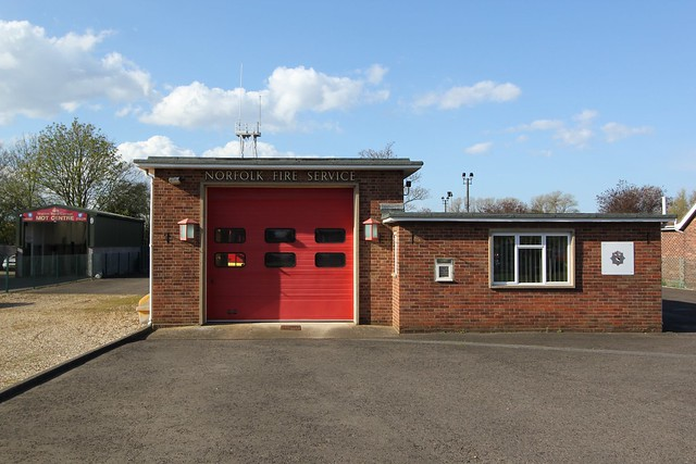 Heacham Fire Station, Norfolk
