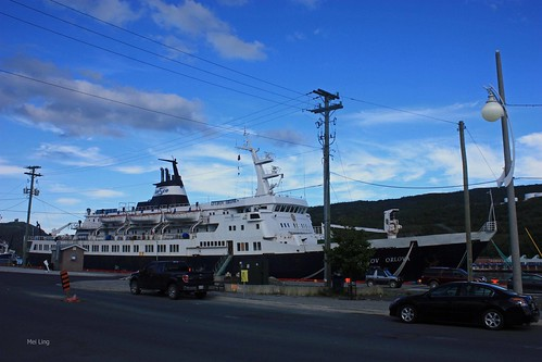 Russian Cruise Ship in St. John's