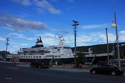 Russian Cruise Ship in St. John's
