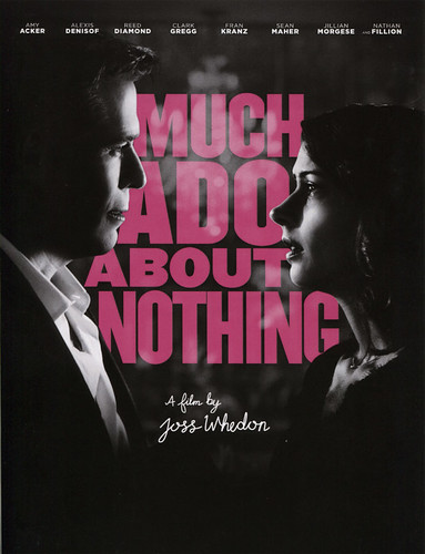 Can't wait to see this one: MUCH ADO ABOUT NOTHING by Josh Whedon