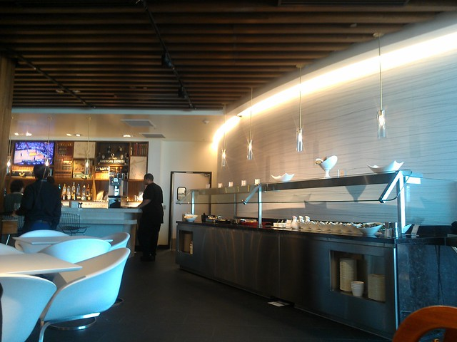 The American Express Centurion Lounge at LAS