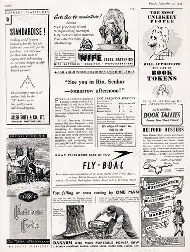 1949 - British Advertisements.