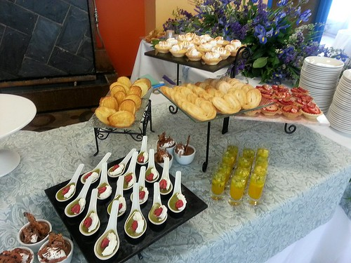 our buffet dessert table by pipsyq