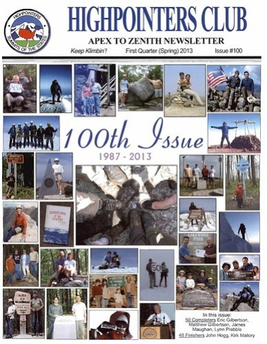 Apex to Zenith Issue #100 First Quarter 2013