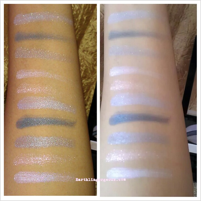Revlon PhotoReady Primer + Shadow Watercolor swatches