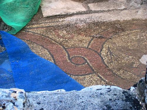 Butrint, Roman Mosaic