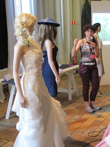 Smart Textiles Salon - Trasendense by Galina Mihaleva of Nanyang Technological University, Academy of Art