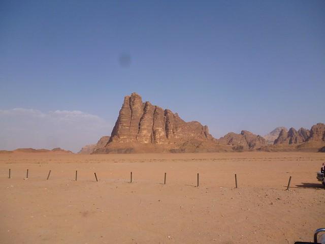 Seven Pillars of Wisdom at Wadi Rum