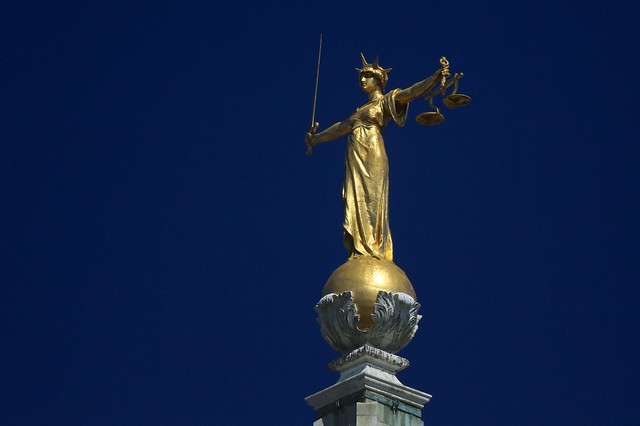 Statue of Justice - The Old Bailey