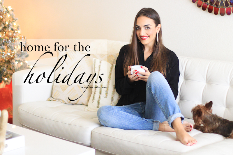 Love Olia at Home: Home for the Holidays