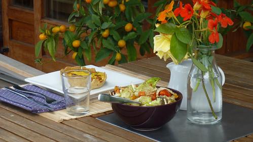 Vegetable quiche - quiche con le verdure