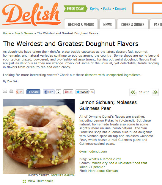Delish.com article