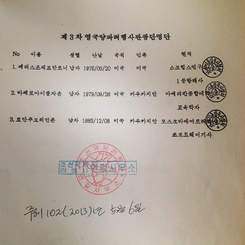 Rason SEZ, North Korea Travel Permit