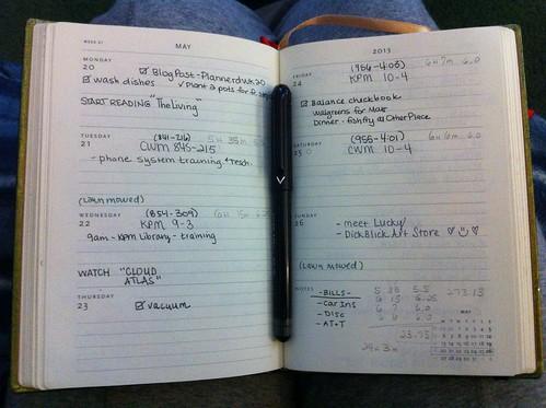 My Plannerd Week 21