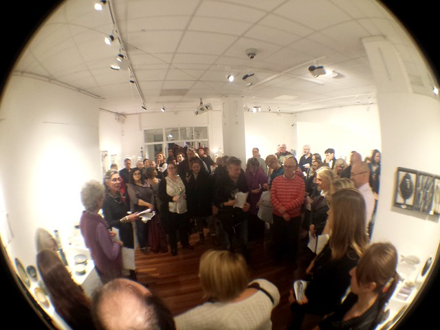 London Potters Annual Exhibition 2014 Private View #pottery