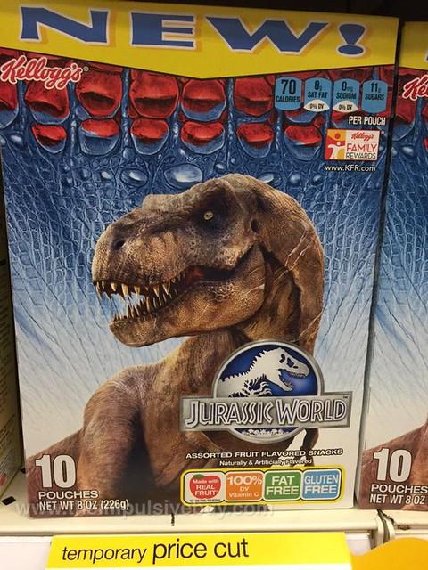 Kellogg's Jurassic World Fruit Flavored Snacks