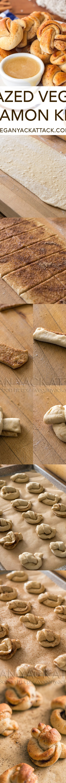 How to make vegan cinnamon knots