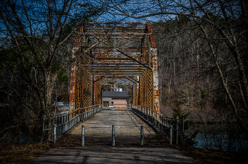 Parkers Ferry - Old 181 Bridge