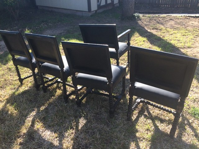 Black Gothic Chairs