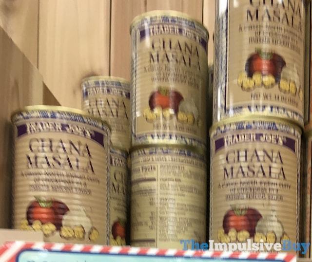 Trader Joe's Canned Chana Masala