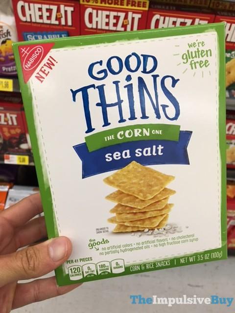 Good Thins Corn Sea Salt