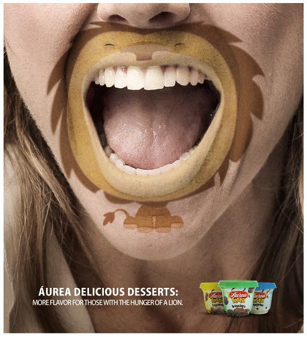 Áurea Delicious Desserts - Lion