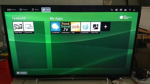 เป็น Smart TV มี App ไว้ใช้งานได้สบายๆ