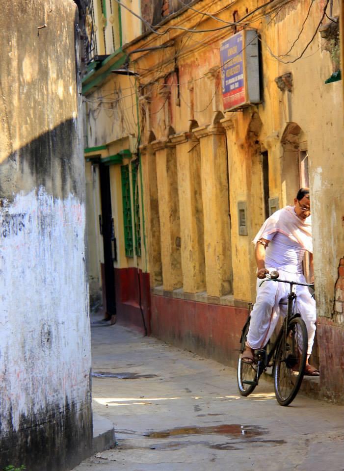 bengali cycling in kolkata