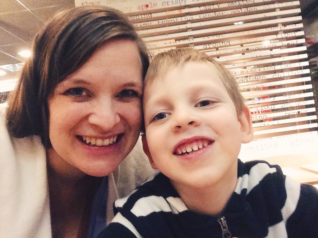 Titus and Mommy's Date Night (2/23/15)
