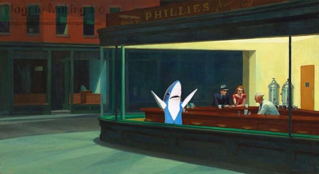 Nighthawks shark