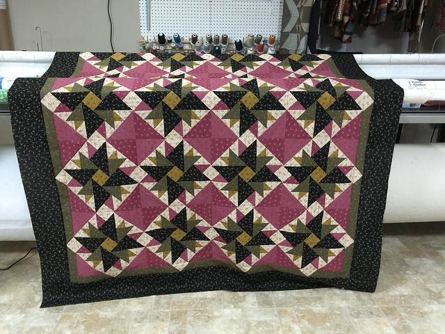 Over the border quilt top.