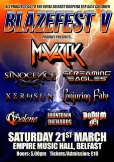 Blazefest V poster
